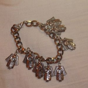 Jewelry - 10 Commandments Charm Bracelet NWOT